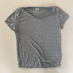 Garage - Tight Stripped T-Shirt